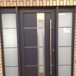 Unsere neue Tür